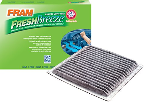 FRAM FCF10139 Fresh Breeze Cabin Air Filter with Arm & Hammer