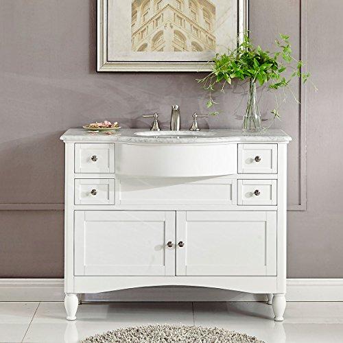 Silkroad Exclusive Contemporary Lavatory Basin Bathroom Sink Vanity
