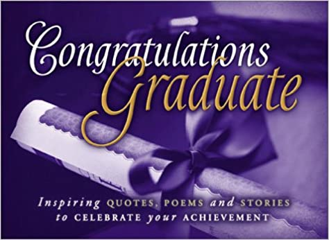 Congratulations Graduate: Hallmark Books Inc: 9781562927790: Amazon.com:  Books