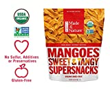 Made in Nature 100% Organic Usda Dried & Unsulfured Mangos ~ 28 Ounces