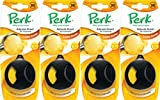 Perk Golden Vanilla Adjusta-Scent Air Freshener, (Pack of 4)