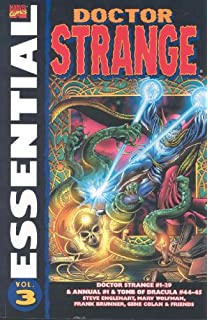 Image result for Marvel Essential Dr Strange