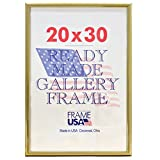 """Deluxe Poster Frame, 20 x 30"""", Gold"""