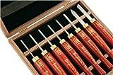 PSI Woodworking LCAN8MD HSS Micro Detailing Anniversary Lathe Chisel Set, 8-Piec supplier_id_tntnorthnj, #UGEIO70201609463719