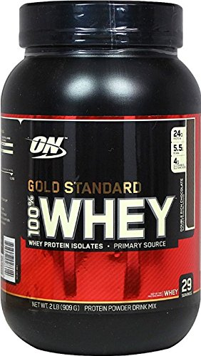 Optimum Nutrition Gold Standard Whey Double Rich Chocolate-2 lbs Powder