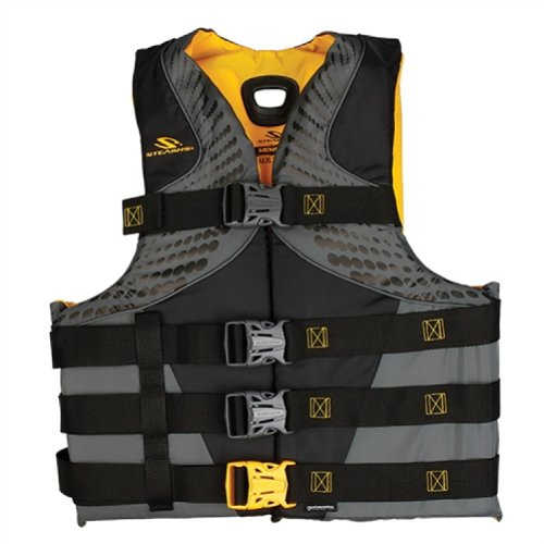 Coleman Stearns Pfd 5974 Mens Infinity L/Xl Gold C004 2000013975 (Mens Buckle Vest 4)