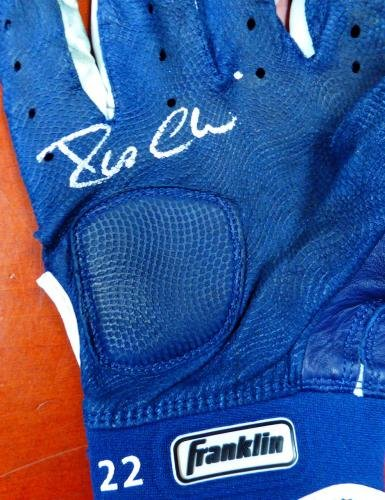 Robinson Cano Autographed Used Batting Gloves Signed Certificate & 7A93710 PSA/DNA Certified Autographed MLB Gloves