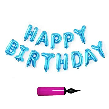 Happy Birthday Letter Balloons Party Supplies Decorations Easy Set Up For All Age Light