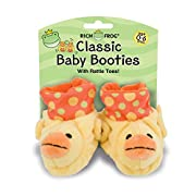 Rich Frog Duck Baby Booties 0-6 Months