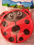 Animal Friends Ladybug Plastic Travel Bowl with Lid (5