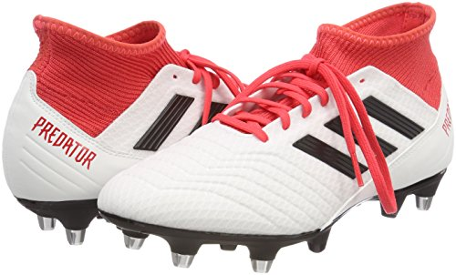Roofdier 18.3 Sg Voetbalschoenen - Wit / Rood Wit