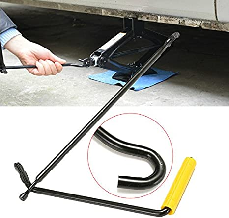 AVANI EXCHANGE Steel Scissor Jack Handle Crank Tool Car Van Garage Tire Wheel Lug Wrench