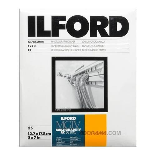 Ilford 1771899 MG IV Satin 25M 25 13X18 13 x 18 cm Carta fotografica 1771899.0