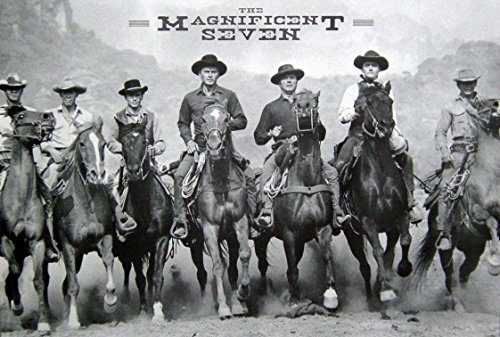 Magnificent Seven an American Western Film Movie Photo Print