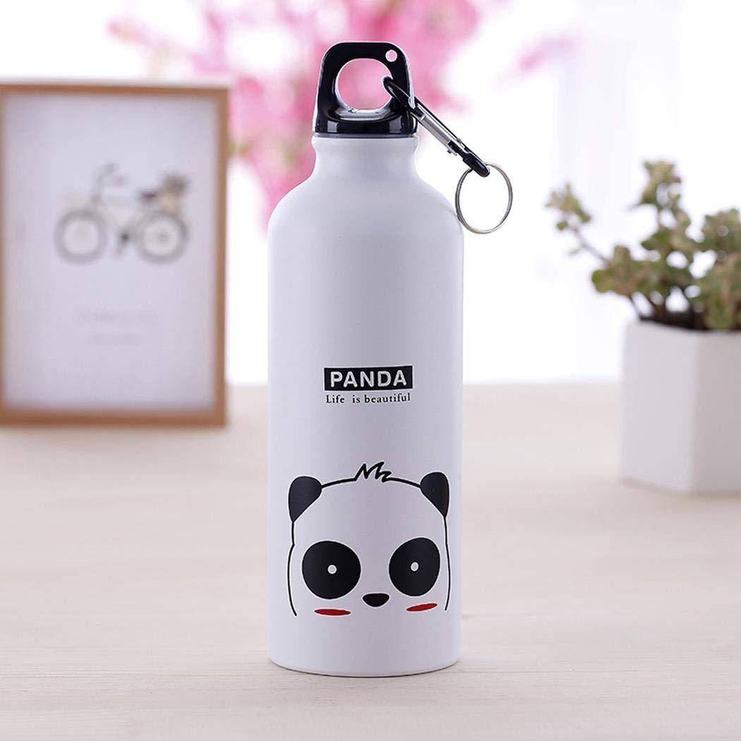 Lieja 500 ml Cartoon Tier Muster Aluminiumlegierung Thermos Cup Wasserflasche Trinkflaschen