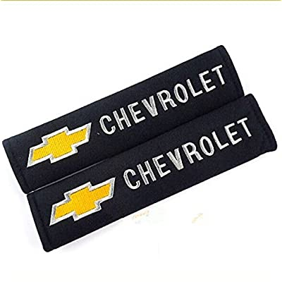 D&R Set of 2 Seat Belt Covers Shoulder Pads For Chevrolet Chevy: Automotive