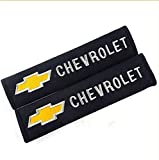 D&R Set of 2 Seat Belt Covers Shoulder Pads For Chevrolet Chevy