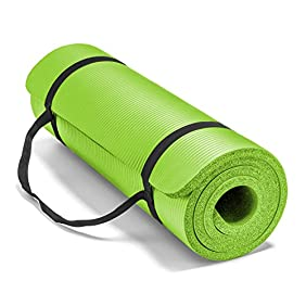 Spoga Premium Extra Thick 71-Inch Long High Density Exercise Yoga Mat with Comfort Foam and Carrying Straps