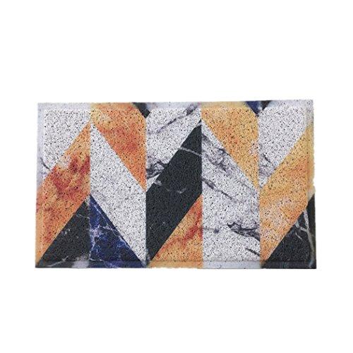 Dazzle Digital Printed Floor Mat Absorbent Anti-Skid Pad Doormats Bathtub Mats,31.5