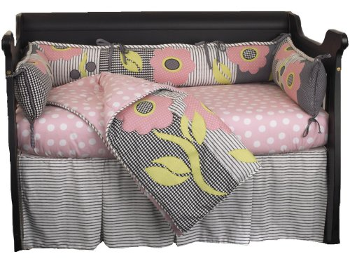 (Cotton Tale Designs Poppy 4 Piece Crib Bedding Set)