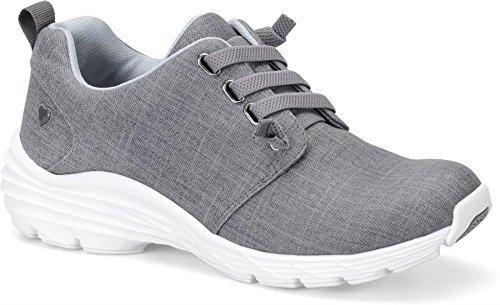 Nurse Mates Women's Velocity Grey Shoe - Velocity Womens Slip