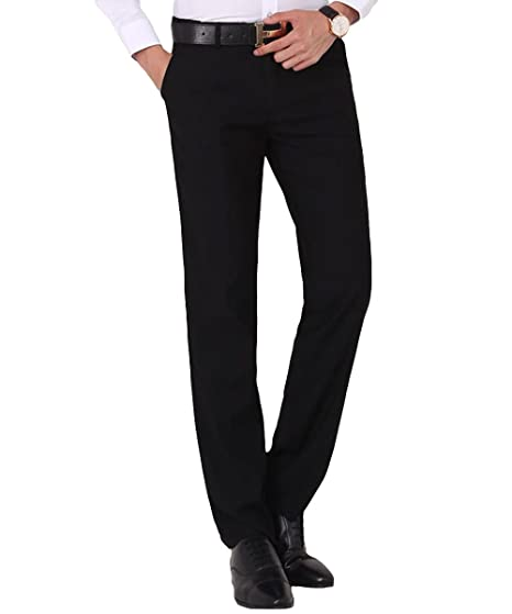 Allthemen Traje de Hombre Pantalones Estiramiento Ajuste Regular ...