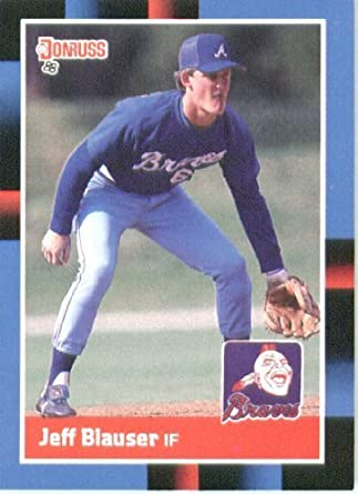 Amazoncom 1988 Donruss Baseball Card 513 Jeff Blauser