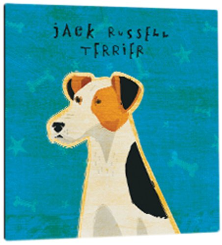 Tree-Free Greetings 60986 Premium Square Eco Magnet, 3.5-Inch, Jack Russell Terrier