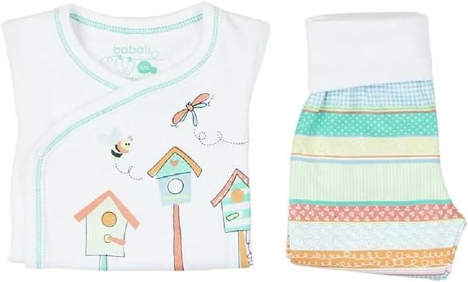 boboli Pijama Primera Puesta Bebe niña Modelo 115164 (1M): Amazon.es: Ropa y accesorios