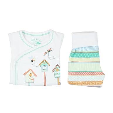 boboli Pijama Primera Puesta Bebe niña Modelo 115164 (0M)