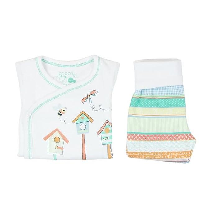 boboli Pijama Primera Puesta Bebe niña Modelo 115164: Amazon.es ...