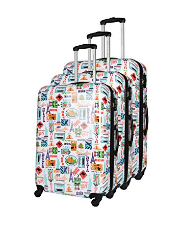 COMPAGNIE DU BAGAGE Set de 3 trolleys rígidos  Multicolor