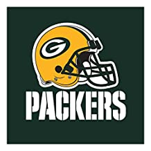 Creative Converting 192-Count  Green Bay Packers  Lunch Napkins