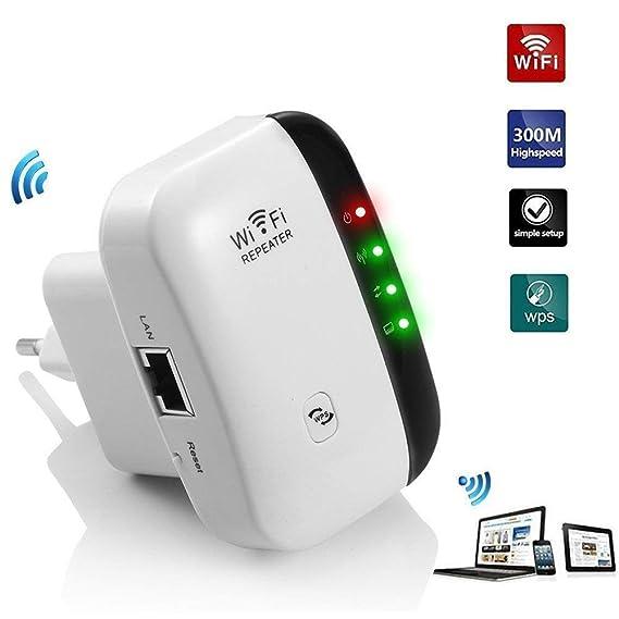 300Mbps Repetidor WiFi Repetidor de señal WiFi Mini N300 Extensor de Red Amplificador inalámbrico de Largo