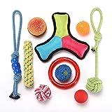 Cheap Hodleys Dog Toys Set Ball Rope Chew Toys Small to Medium Dog Puppy Toys