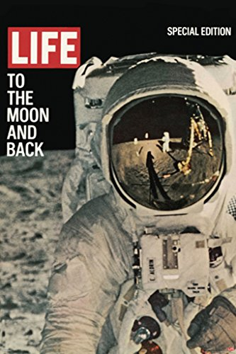 Pyramid America Time Life to The Moon & Back Magazine Cover Poster 24x36 inch