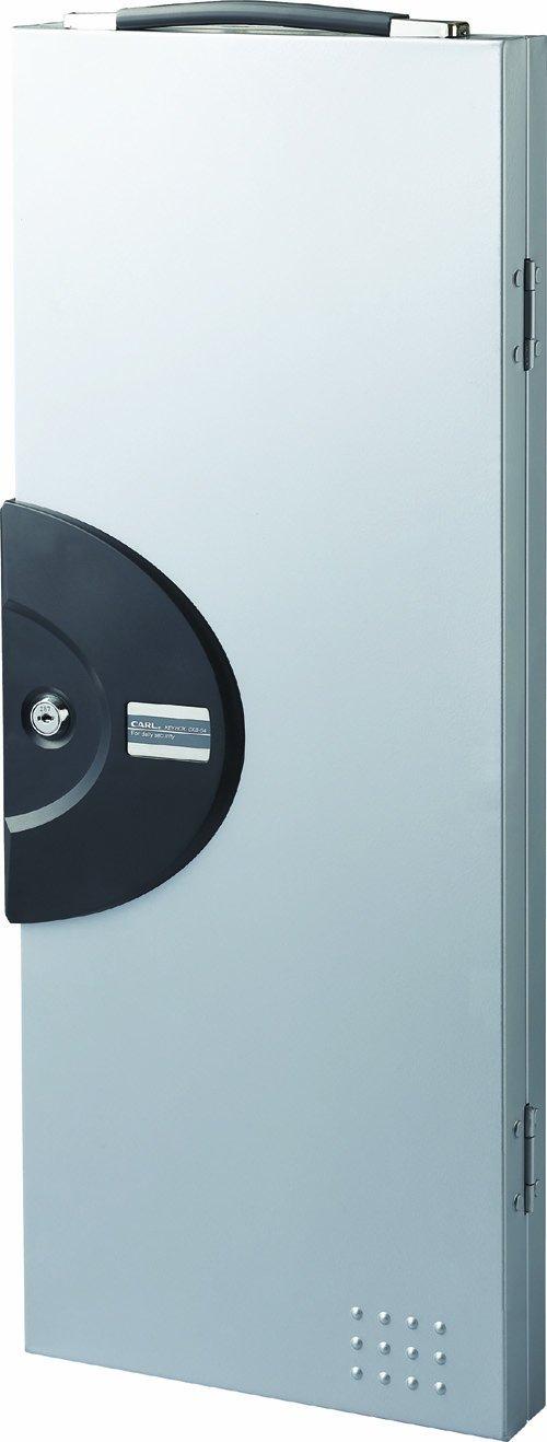 カール事務器 キーボックス 64個収納 ホワイト CKB-64-S B002UKPBPW 鍵収納数64個|シルバー シルバー 鍵収納数64個