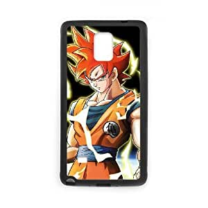 Generic hard plastic DRAGON BALL Anime Cell Phone Case for Samsung Galaxy Note 4 Black B0746