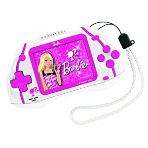Cyber Consola Barbie 75 Juegos Lexibook