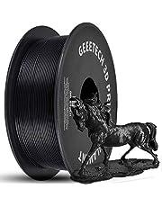 GEEETECH PLA 3D Printer Filament, 1.75mm Black, 1kg (2.2lbs) Spool, Upgrade Tidy Winding Tangle-Free