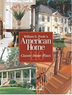William Poole Designs floor plan William E Pooles American Home 110 Classic Home Plans