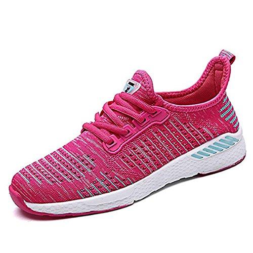 CHNHIRA Sport Homme Running Course de Entraînement Mode Rose Courtes Chaussures Femme Respirantes Basket Fitness Trail Athlétique Compétition Sneakers 0rqxnB0