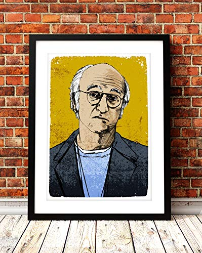 NHMug Larry David Portrait Print Poster Gifts for Men Woman [No Framed] Poster Home Art Wall Posters (16x24)]()