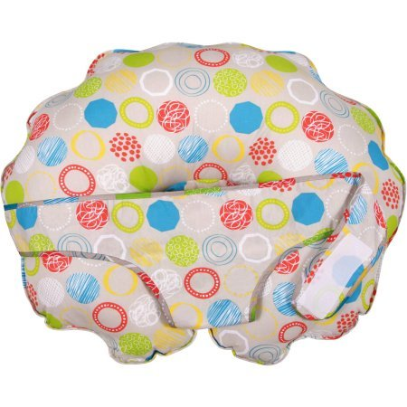 Leachco Cuddle-U Nursing Pillow & More with Slipcover, Whimsy Rounds by Leachco