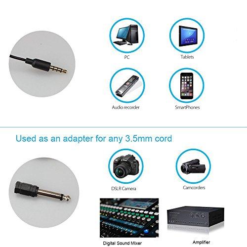 MAONO LAVALIER MICROPHONE, MANOS LIBRES CLIP-ON MICRÓFONO DE SOLAPA CON CONDENSADOR OMNIDIRECCIONAL para Cámara, DSLR, iPhone, Android, Samsung, Sony, PC, Laptop (236in /20ft)