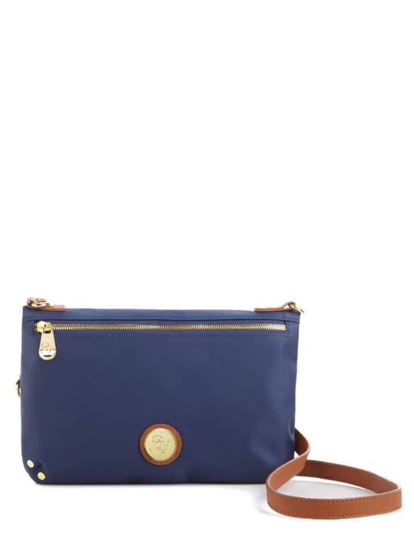Joy Lightweight Travelease RFID Crossbody Bag Zipper Navy One Size New 539-266