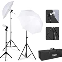 ESDDI Photography Lighting - Umbrella Lights Kit 600W 5500K Portable Continuous Day Light Photo Portrait Studio Video Equipment