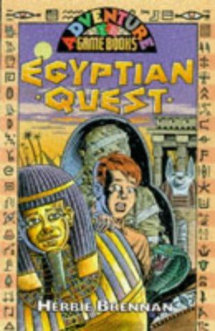 book cover of EgyptQuest - The Lost Treasure of The Pyramids