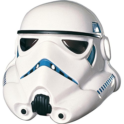 Rubie's Men's Star Wars White Stormtrooper Mask - One Size, 10