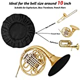 Snowki 2Pcs Reusable Music Instrument Bell Cover